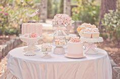 Une table de douceurs élégante et romantique. #mesadedoces