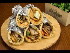 YouTube Greek Gyros, Greek Cooking, Slow Food, Mediterranean Recipes, Greek Recipes, Make It Simple, Recipies, Pork, Healthy Eating