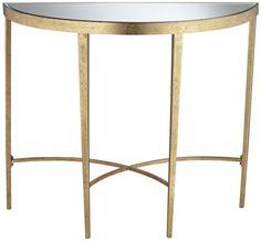 Amelia Antique Gold Demilune Console Table Universal Lighting and Decor http://www.amazon.com/dp/B00IUQ9QM4/ref=cm_sw_r_pi_dp_.Mdkvb1TEMRWC