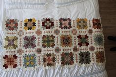 Cyn's Quilt 5- patchwork of the crosses block plus a pretty setting