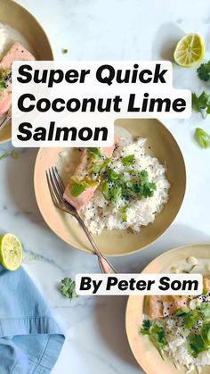 Salmon Recipes, Fish Recipes, Seafood Recipes, New Recipes, Cooking Recipes, Favorite Recipes, Healthy Recipes, Fish And Seafood, Food Porn