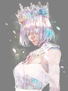 TFBb° VII I was inspired by a Diamond cosplay and it turned into. Anime Art Girl, Manga Art, Pretty Art, Cute Art, Aesthetic Art, Aesthetic Anime, Yuumei Art, Art Sketches, Art Drawings