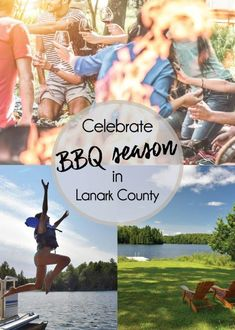What's grilling? Barbeque season is year round in Lanark County. Enjoy visiting the top butcher shops, and take in a round of golf as you explore the glorious agricultural landscape of Lanark County. Splash Park, Parks Canada, Summer Barbecue, Canoe And Kayak, Swimming Holes, Outdoor Cooking, World Heritage Sites, Kayaking, Wander