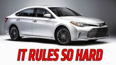 2016 Toyota Avalon Consumers looking for premium luxury can delve deeper into the reinvigorated 2016 Toyota Avalon design with new model research on the Allan Nott Toyota website. Toyota Tundra, New Sports Cars, Sport Cars, New Car Wallpaper, Wallpaper 2016, Engines For Sale, Toyota Avalon, Jaguar Xk, Motors