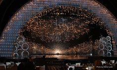 Stage Design - Derek McLane's Oscar Set | #eventprofs www.MonasEventDosAndDonts.com/blog | Corporate Event Planning & Blog