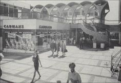Blast from the past. The restaurant & shopping area of Hanley bus station 1977.