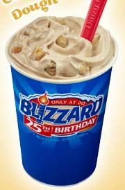 how to make a cookie dough blizzard