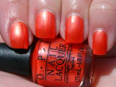 OPI Orange You Going To the Game? (2 coats)