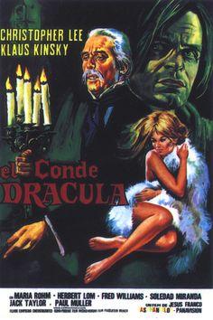 Jess Franco's Count Dracula (Nachts, wenn Dracula erwacht / Dracula Wakes up at Night) (1970, Spain / Germany / Italy)