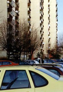Tychy   Osiedle O – Olga, budynki mieszkalne arch. Maria Czyżewska, II poł. lat 70.     Foto. Janusz A. Włodarczyk ©