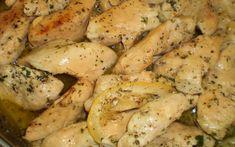 Görög citromos csirkemell Chicken Wings, Food And Drink, Potatoes, Cook Books, Meat, Vegetables, Potato, Vegetable Recipes, Veggies