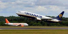Easyjet & Ryanair at Bristol Airport