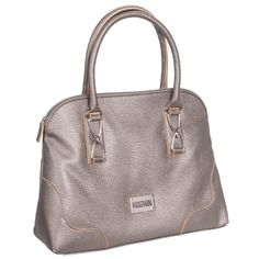 68832fd3d4 Kenneth Cole Reaction Women s Marbella Dome Satchel Handbag Bag (Platinum) Kenneth  Cole REACTION http