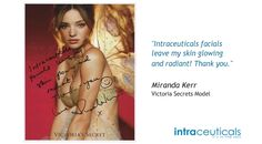 We're not the only one's that love Intraceuticals facials... #skin #oxygen #facials #makeup #celebrities