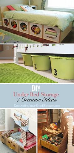 DIY Under Bed Storage | All Too Lovely - http://ideasforho.me/diy-under-bed-storage-all-too-lovely-2/ -  #home decor #design #home decor ideas #living room #bedroom #kitchen #bathroom #interior ideas