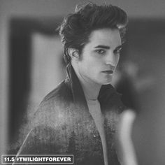 The hair. The style. The fact that he's a vampire.