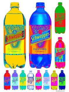 SCHWEPPES CLUB  SODA 12-X // Pop Art Print on Fine by EisnerArt