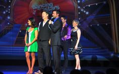Contestants stand by as judges rule on #halcruises #dwtsatsea