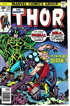 Thor 1962-1996 1st Series Journey Into Mystery 251 by ViewObscura