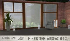 Mod The Sims: Photonik Windows  set 2 by Blackgryffin • Sims 4 Downloads