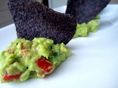 """Wholly Guacamole from Food.com: Attached to this recipe was the following: """"This is a true Tex-Mex recipe concocted by a distant relative stationed at the Alamo nearly 160 years ago. According to family lore, he was out looking for some good tomatoes when Santa Ana attacked the now famous Texas landmark. Luckily, our relative kept this recipe in the lining of his coon-skin cap, and both he and his avocado dip lived to fight another day. Years later, near death from an infected Chihuahua…"""