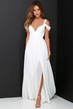 Vintage Chiffon Beach Bridal Wedding Dresses
