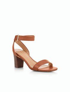 The perfect summer neutral block heel.