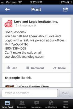 Love and Logic number Love And Logic, Behavior Interventions, Kids Behavior, Teacher Resources, Parenting Hacks, No Response, Memories, Coaching, Corner