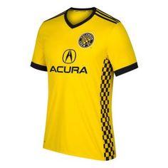 2017-18 Cheap Jersey Columbus Crew SC Home Replica Football Shirt [JFCB737]