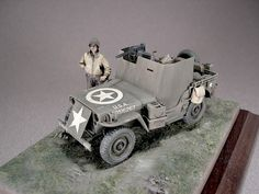 US Willys Jeep with Armor