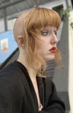 Chelsea Cut, Chelsea Girls, Bad Hair, Hair Day, Undercut Hairstyles, Cool Hairstyles, Colored Dreads, Shaved Head Women, Skinhead Girl