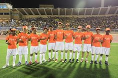 Check out the the kids with pumped up kicks wearing QNET shirts at the AFC champion league seminfinals