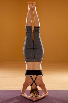 100 week 19 entries  headstand pose shirshasana ideas