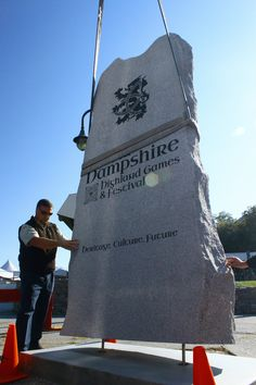 Scottish Stone Circle installation at Loon Mountain on Tuesday, September 18, 2012