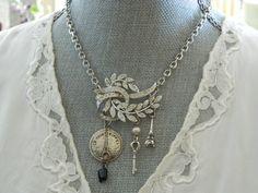 Paris Assemblage Necklace  68Diamond on etsy