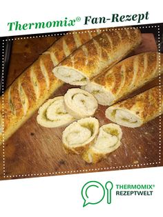 Parmesan-Oregano-Baguette von Haihappen. Ein Thermomix ® Rezept aus der Kategorie Backen herzhaft auf www.rezeptwelt.de, der Thermomix ® Community.