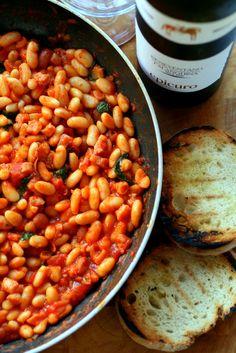Italian beans on toast…   Real Italian Foodies