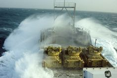 US Army Vessel Churubusco somewhere in the Persian Gulf - From US Army
