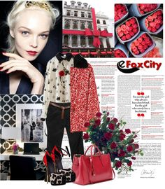 """""""Look - www.efoxcity.com"""" by inatalya ❤ liked on Polyvore"""