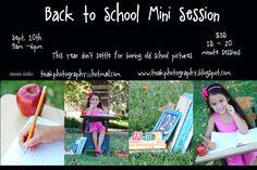 tina k. photography: Back to School Mini Session