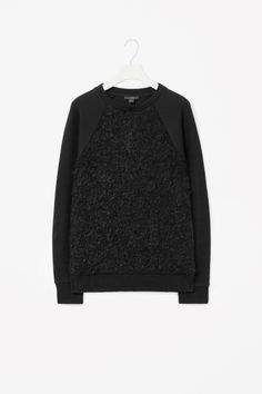 Textured front sweatshirt | M