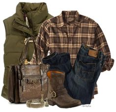 Plaid Shirt For Your Casual Fall Outfit Style #polyvore #BeModish #outfits #fashion