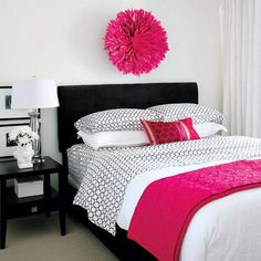 Small Master Bedroom? Here's How to Make the Most of It: Bright Accents in a Bedroom