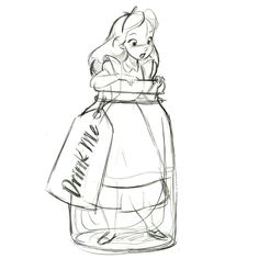 drink me tag alice template | Drink Me'' Alice in Wonderland Ornament - Product Image #2 - Sketch ...