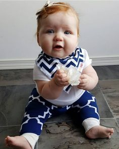 Holly this is your colour...blue and white have never looked more sublime👌  #gingerbaby #bandanabib #patternonpattern