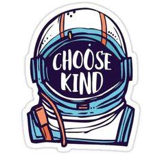 Choose Kind Wonder Sticker