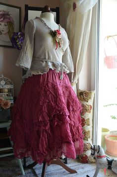 Rock, skirt, jupe Tine von EWA I WALLA, M, NEU, NEW, Rasberry, 239,-€