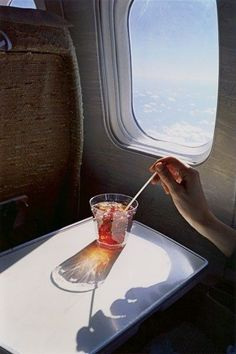 Untitled (Glass in Airplane) William Eggleston, from the Los Alamos Portfolio, 1965-74