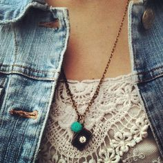 new CAPTURE the moment CAMERA NECKLACE antique bronze chain photography photographer gift teal mum flower charm. $9.00, via Etsy.