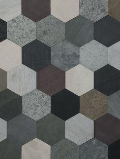 Artesia - Palette - Origami - Natural Stone Stone Tile Texture, Ceramic Texture, Floor Texture, Tiles Texture, Floor Patterns, Wall Patterns, Textures Patterns, Unique Tile, Brick And Stone